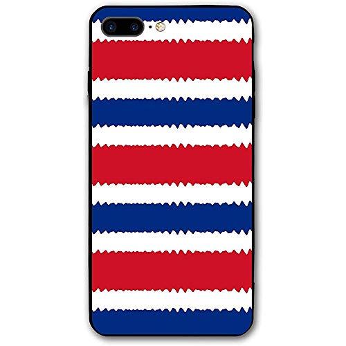 Gustave Tomlinson Compatible para iPhone 7 Plus / 8 Plus Estuche Originalidad Costa Rica A Prueba de Golpes Anti-Huella Digital Resistente a rayones