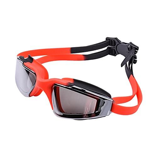 Gafas de natación Gafas De Natación Antivaho UV Gafas De Natación De Silicona Profesionales para Hombres Mujeres Adultos Niños Buceo Gafas Deportivas