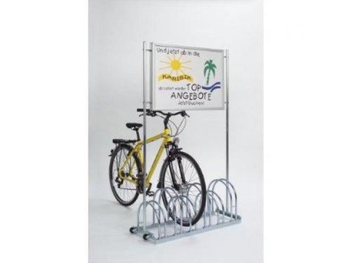 Fahrradständer Werbe-Fahrradständer CW5000 6Stellplätze
