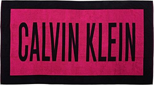 CALVIN KLEIN UNDERWEAR Unisex - ondergoed & lingerie Towel, meerkleurig (zwart/roze), mt. One Size