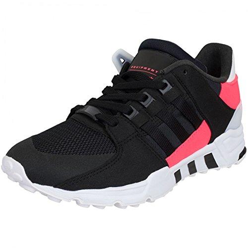 adidas EQT Support Women Sneaker Trainer (39 1/3, Black/Black)