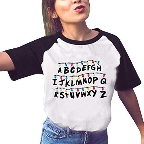 Camiseta Stranger Things Mujer, Camiseta Stranger Things Ni�