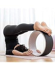 InnovaGoods Rodha yogahjul, unisex, vuxna, svart, Ø 33 x 13 cm