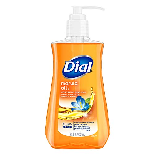 Dial Liquid Hand Soap, Miracle Oil Marula, 7.5 Fl Oz (Pack of 1)