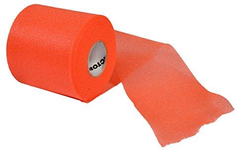 VICTOR Dämpfungsgriffband Cushion Wrap GR-50, Orange für Badminton, Squash und Tennis, 715/0/0