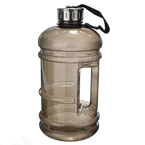 Grande capacità di 2,2litriper soddisfare le esigenze sportive e la dose d'acqua giornaliera raccomandata. Senza BPA: realizzata in plastica resistente e sicura, priva di BPA. Ideale per la palestra, sport all'aria aperta e l'ufficio:porta la borra...