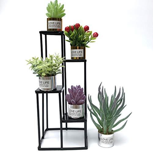 Tomaibaby Mini-Grünpflanzen Kunstpflanzen Miniatur-Grüngras für Den Puppenhausgarten Miniatur-Landschaftsdekor (3 Stück Grün Und Pink) - 9