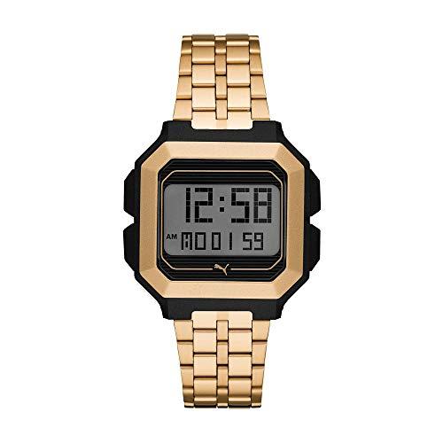 Puma Reloj Digital para Mujer de Cuarzo con Correa en Acero Inoxidable 1