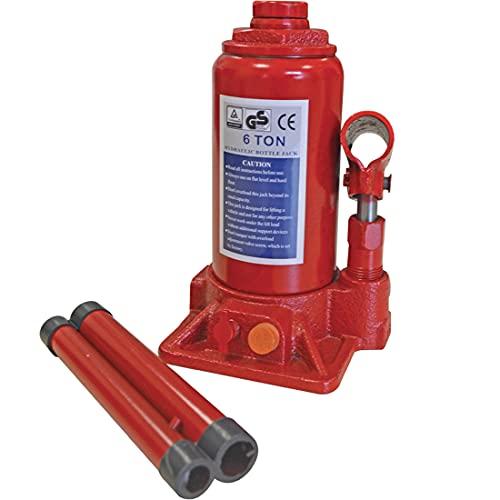 echoeng - Elevador hidráulico, gato hidráulico de botella de 6 toneladas – MA CB 0006