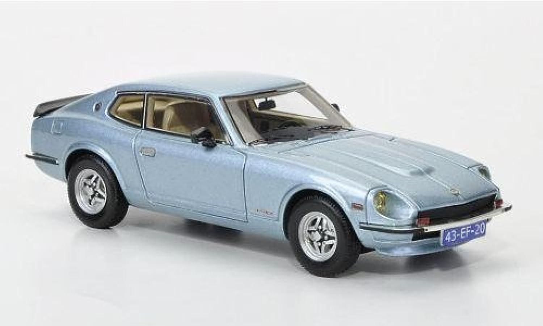 DATSUN 260 Z2+2 1975 blu MET.1 43 Neo Scale modellos Auto Stradali modellololo modellololino die cast