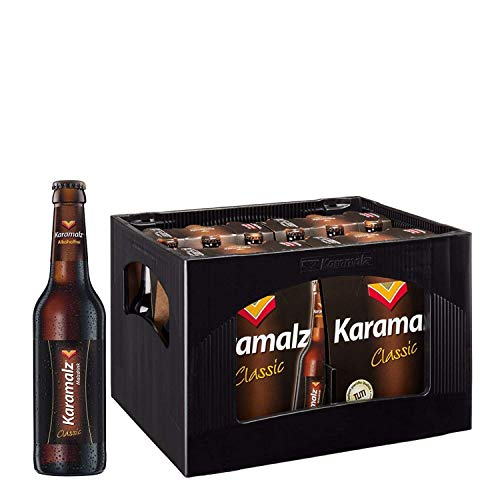 Karamalz Malzdrink - Alkoholfrei Alcohol 24x0,33l - Originalkiste MEHRWEG