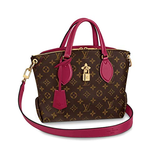 Louis Vuitton Monogram Canvas Flower Zipped Tote PM Strap Handles Handbag Article: M44350