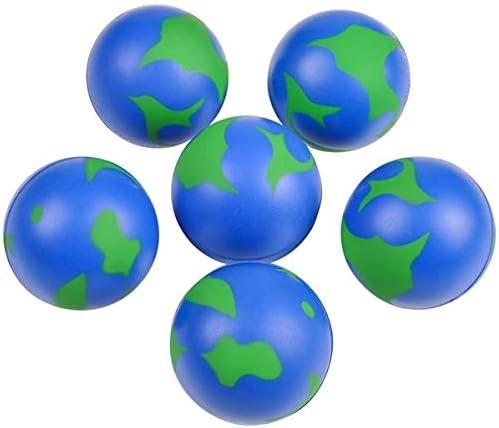 Rhode Max 56% OFF Award-winning store Island Novelty 2 Inch Earth Balls Stress Pack 24 of