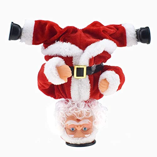 Queta Muñeca eléctrica de Santa Claus, Papá Noel Divertido Juguete Musical en...