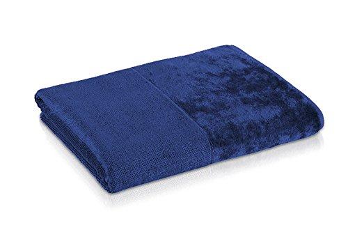 möve Bamboo Luxe Duschtuch 80 x 150 cm aus  aus Bambus-Zellstoff, night blue
