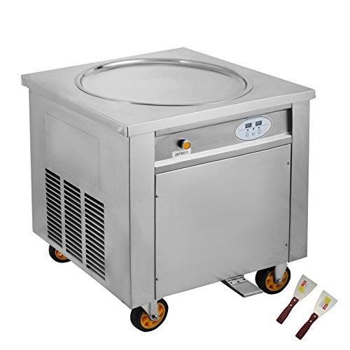 Dimensiones: 68x60x78cm; tamaño de la placa: 50 cm; Salida: hasta 20-22L / H (según la competencia operativa) Rango de temperatura: -30 -50; Refrigerante: R22 / R410a; Material de la sartén: acero inoxidable 304 La máquina de helados fritos tiene la ...