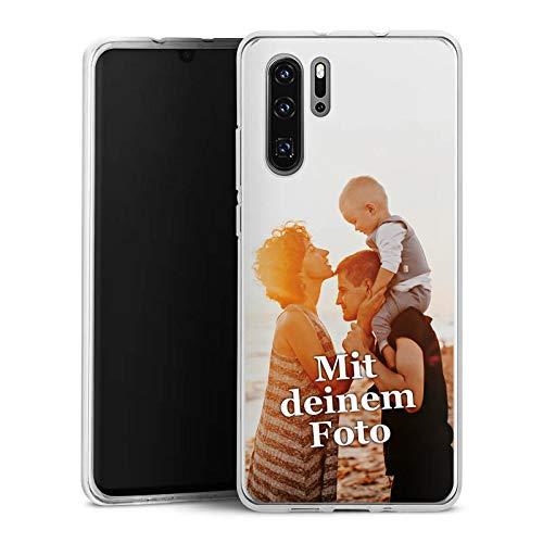 DeinDesign Silikon Hülle kompatibel mit Huawei P30 Pro Handyhülle Case Selbst Gestalten Personalisieren Zum Anpassen