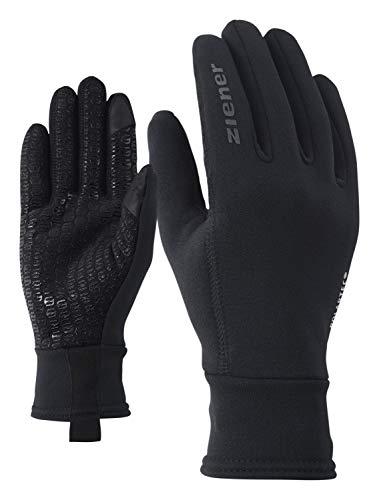 Ziener Herren IDIWOOL TOUCH Handschuhe, schwarz, 9