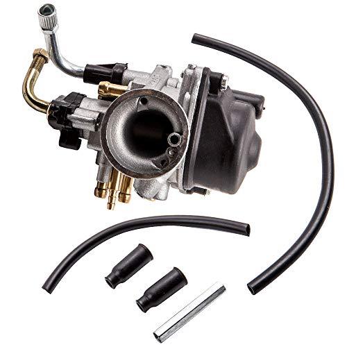 MGGRP Carburador Tuning 17,5 mm Estrangulador manual para Aerox Aprilia SR50 MBK Nitro.