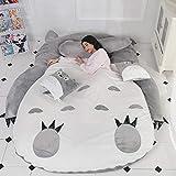 Tatami - Colchoneta para cama, diseño de Totoro Lazy para niños, ideal para dormitorio o...