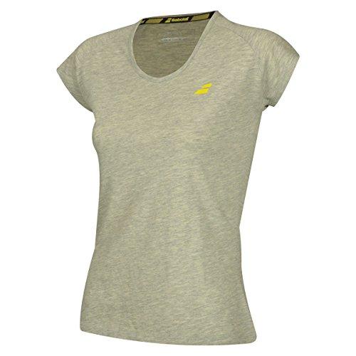 Babolat - Camiseta para Mujer (Talla L), Color Beige