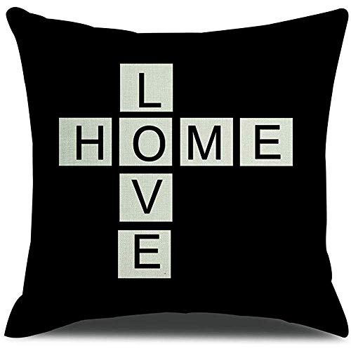 Suo Long Tour Eiffel Love Home Princess Crown Taie d'oreiller Housse de Coussin Love Home Style Blend Housse de Coussin Sofa Taie d'oreiller 12