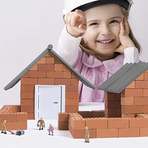 Miniatura De La Casa De Muñecas, Casa De Construcción De Mini Simulación De...