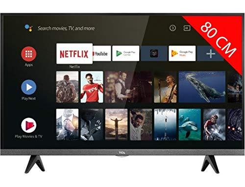 classement un comparer TV LED HD 80 cm TCL 32ES583 – TV LED 32 pouces – TV connectée / Smart TV – Netflix -…