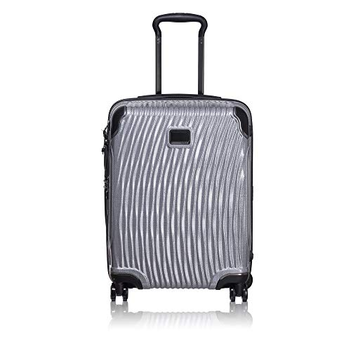 TUMI - Latitude International Slim Carry-On - 22-Inch Hardside Luggage for Men and Women - Silver