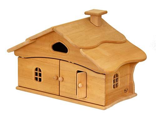 Unbekannt Hexenhaus / Material: Massivholz Erle / Maß: 60 x 38 x 36 cm / Gewicht: 3,3 kg