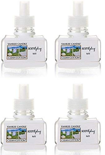 Yankee Candle Clean Cotton ScentPlug Refill 4-Pack