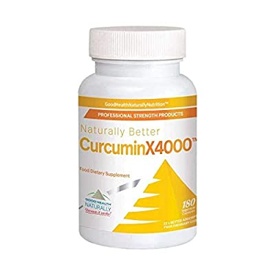 Curcuminx4000- 180caps by Good Health Naturally
