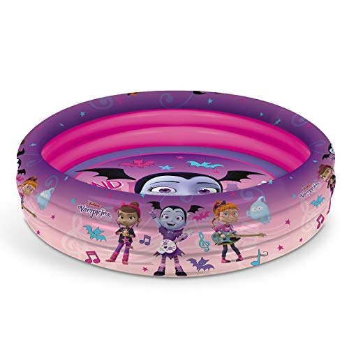 Mondo Toys – Vampirina | 3 Rings Pool – Schwimmbecken für Kinder – 3 Ringe – Durchmesser 100 cm – Fassungsvermögen 84 l - 16771