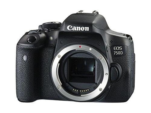 Canon EOS 750D Digital SLR Camera - International Version (No Warranty)