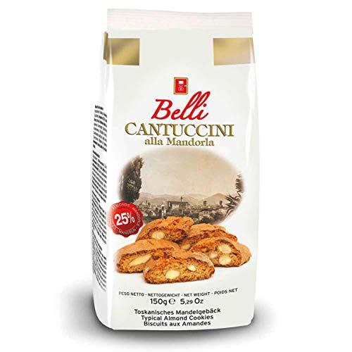Belli Cantuccini alla Mandorla traditionelles Mandelgebäck 150g