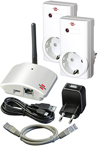 Brennenstuhl Brematic Home Automation Gateway GWY 433 Starter Kit, 1294090