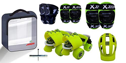 Jaspo Tenacity Roller Skates Combo (Suitable for Age Group Upto 5 Years)
