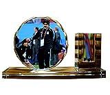 Ybzx Decoración Conmemorativa de Madona, Diego Armando Maradona, Estrella de fútbol, artesanía, Cristal, bolígrafo, Almacenamiento de Personas, Dibujo, colección de Fans, Regalo de Ventilador