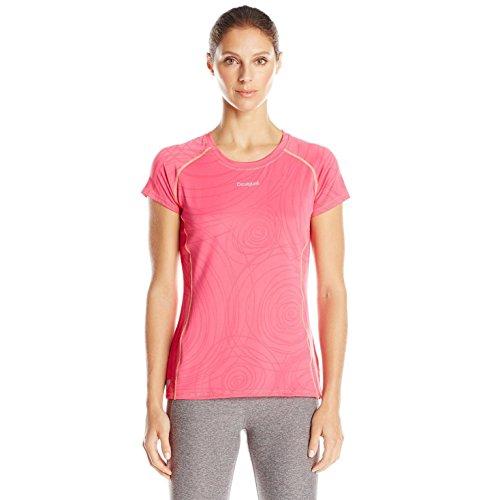 Desigual Damen T-Shirt Kurzarm Semil, Fandango Pink, L