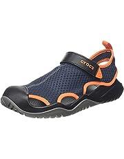 Crocs Swiftwater Mesh Deck Sandal M, Zuecos Hombre