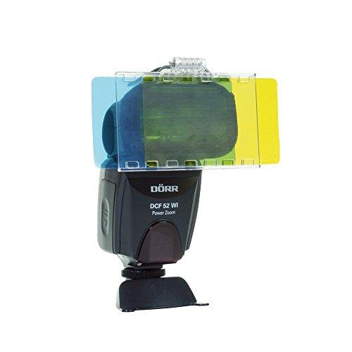Dörr Farbfolie-Vorsatz Set CFK-30 für Systemblitzgeräte Mehrfarbig
