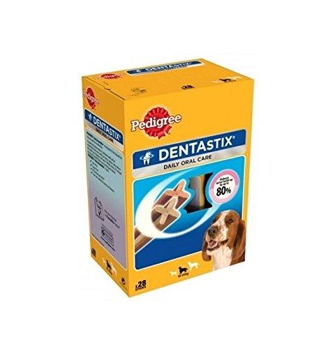 Pedigree DentaStix Medium-Snack pour l'hygiène bucco-dentaire pour chien de taille moyenne