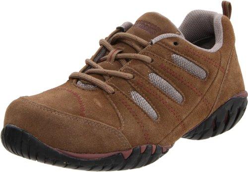 Rockport Work Women's RK617 Work Shoe,Addy Tan/Grey Suede,6 M US