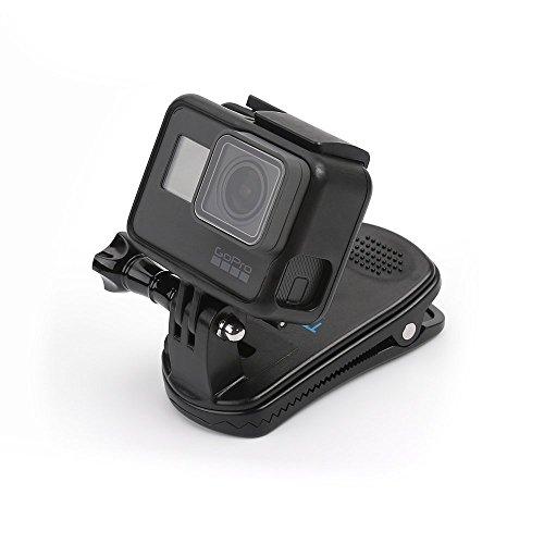 TELESINGoProクリップマウントゴープロクリップマウントアクセサリー360°回転式Hero9/8/7/6/5DJIOSMOActionアクションカメラ対応