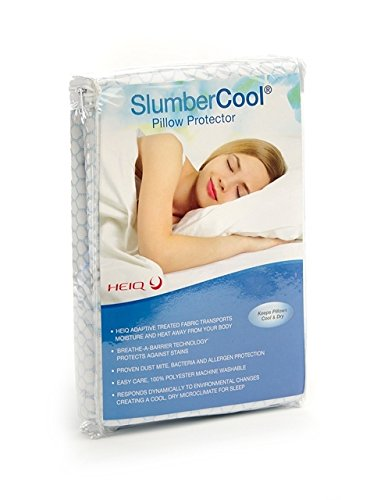 SlumberCool Climate Control Cooling Pillow Protector Hypoallergenic Temperature