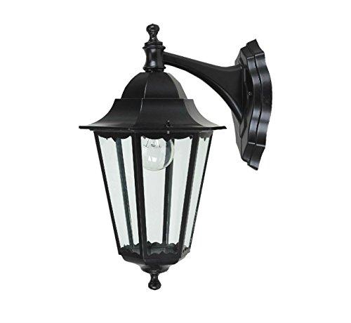 Farol para exteriores de estilo Victoriano para iluminar el jardín, lámpara de pared IP44(hacia abajo)