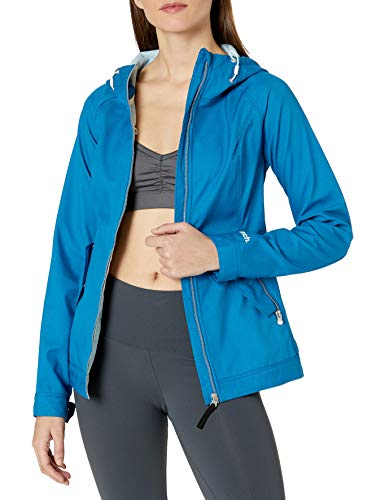 Bench Damen Slim Fit Softshelljacke - Blau - X-Small