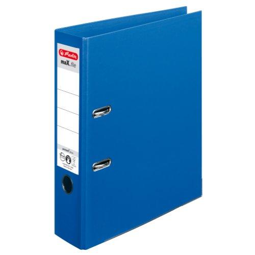 Herlitz 10834331 Ordner maX.file protect+ (A4, 8 cm) blau