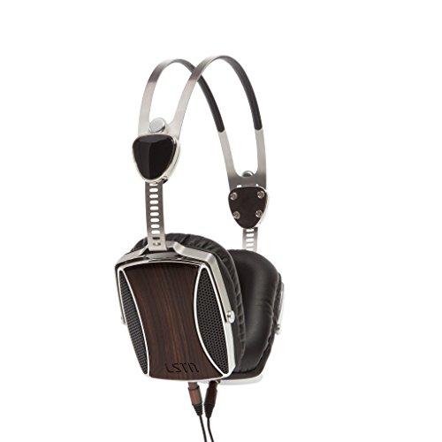 LSTN Encore Echt Ebenholz Kopfhörer mit integriertem Mikrofon