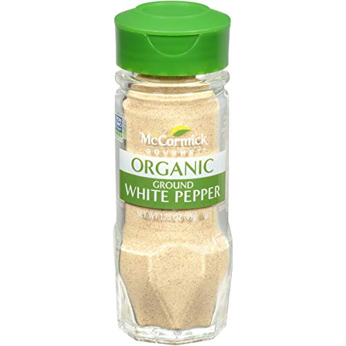 McCormick Gourmet, Ground White Pepper, 1.75 oz